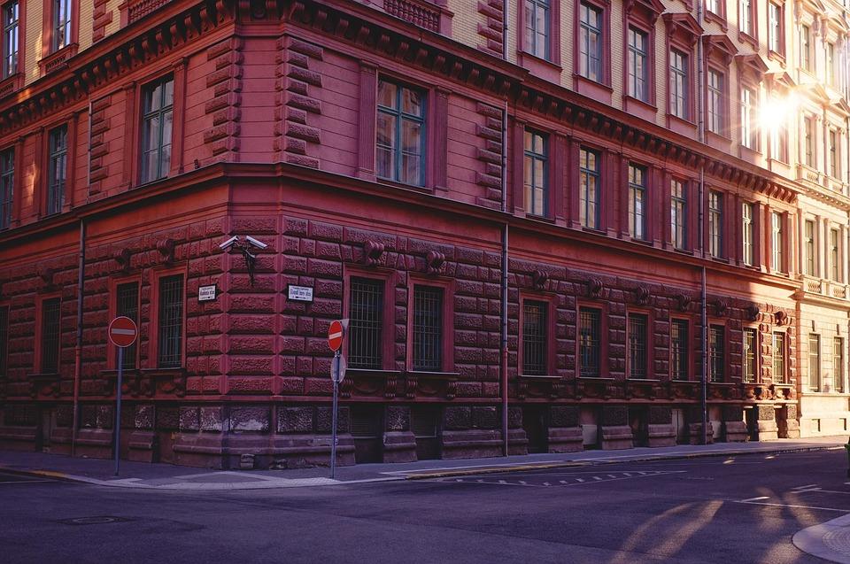 Building, Street, Sunset, Budapest