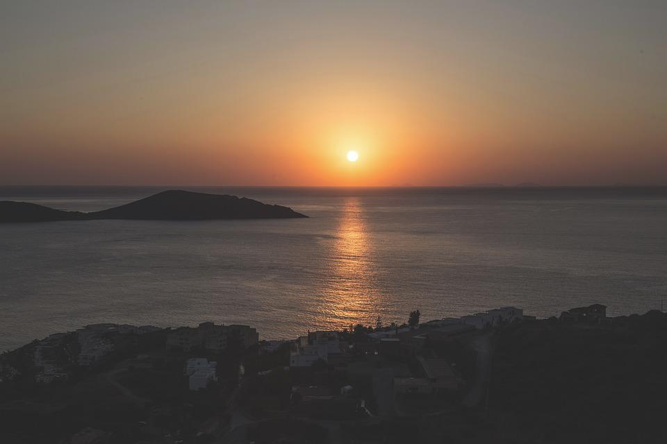 Sunset, Sunrise, Sea, Ocean, Landscape, Summer, Sun