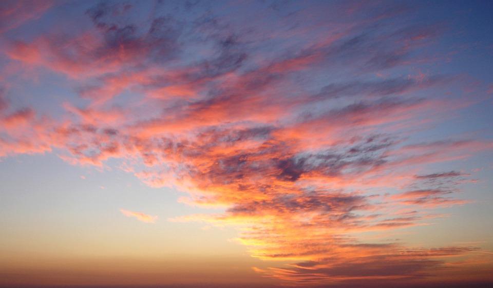 Sunset, Nature, Sun, Dawn, Sky, Cloud