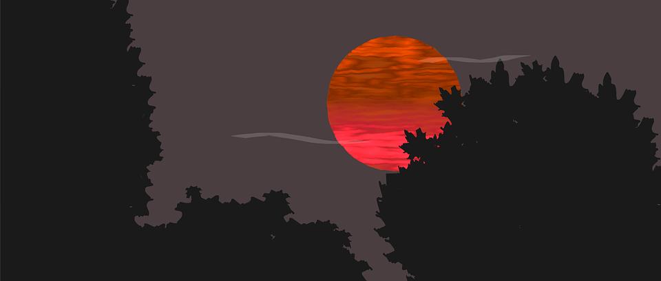 Sunset, Sun, Sunset Sun, Sky