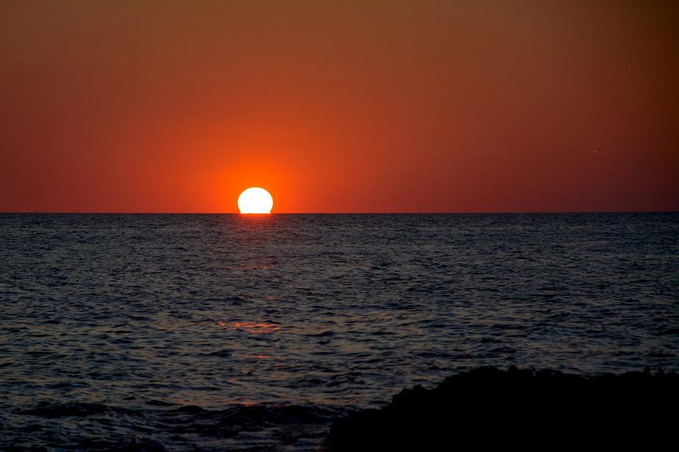 Sunset, Sun, Twilight