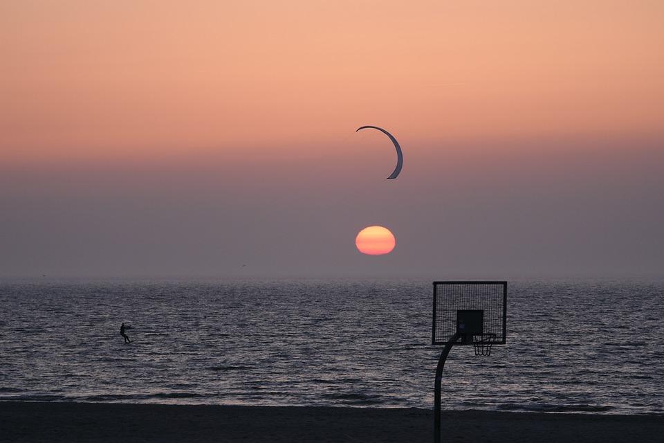 Sunset, Evening, Waters, Dusk, Sea, Sun, Afterglow