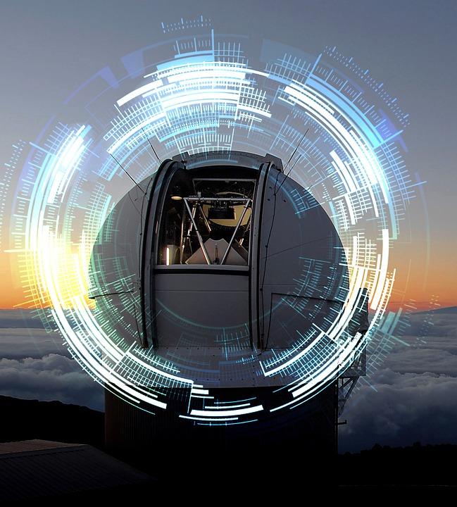 Sunset, Observatory, Science, Telescope, Astronomy