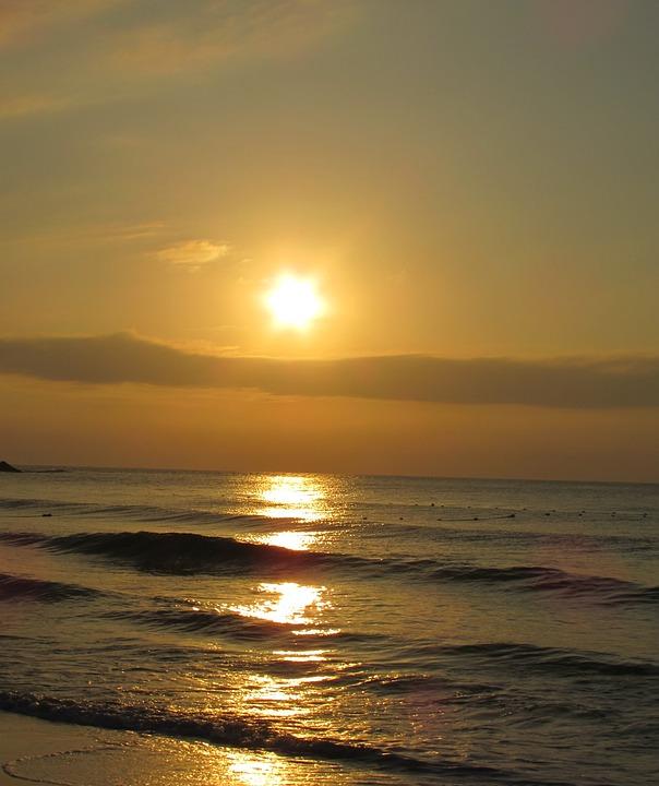 Sky, Sunset, Landscape, Paradise, Sunny, Thailand