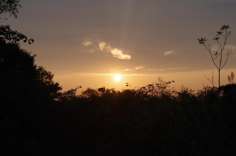 Sunset, The West Creek Wetlands, Twilight