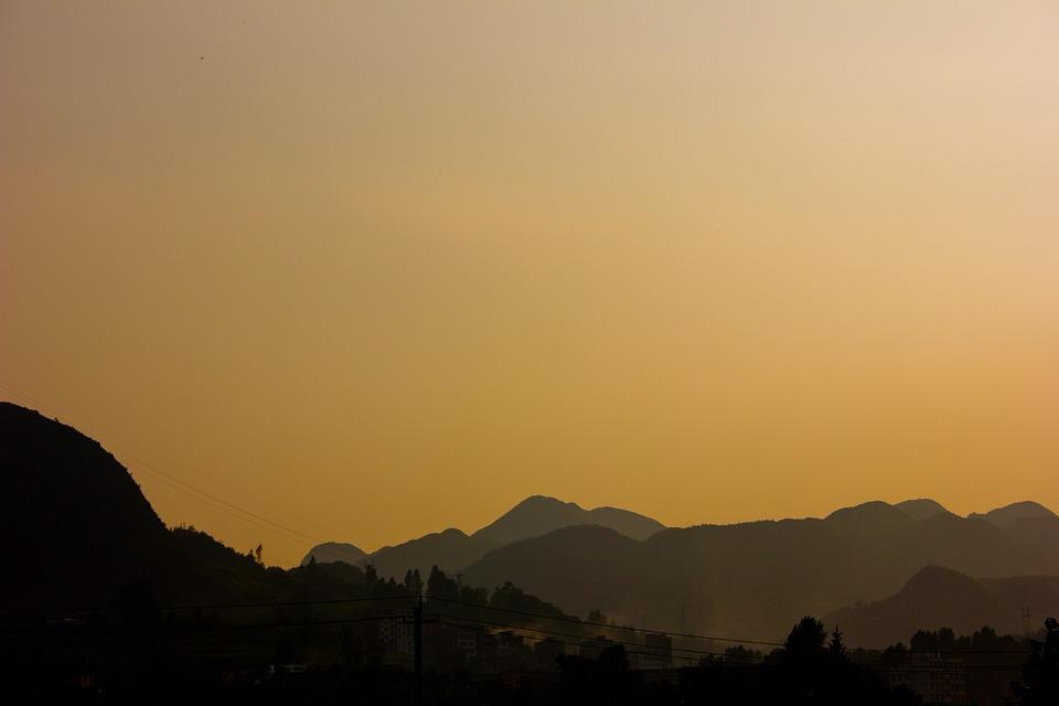 Mountain, Sky, Landscape, Vision, Sunset, Nature