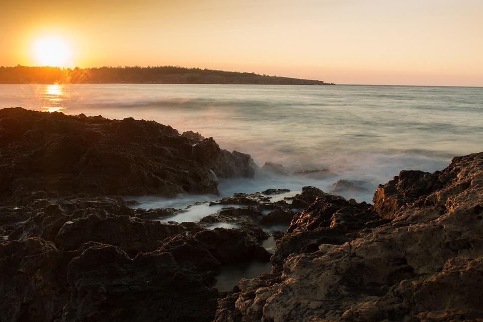 Sunset, Sea, Sunset Sea, Romance, Evening Sky, Water
