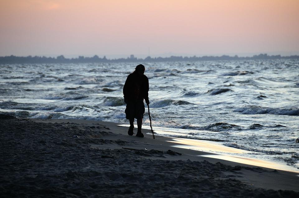 The Baltic Sea, Sea, Sunset, The Coast, Water, Summer
