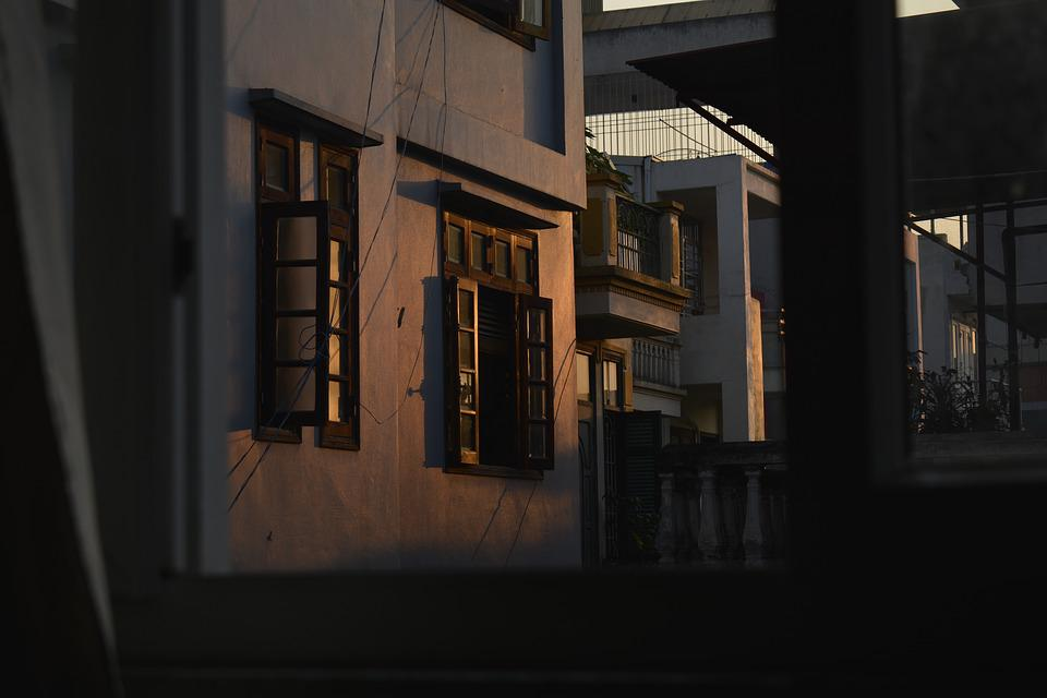 Sunny Morning, Sunshine Through The Window, Nikon7100