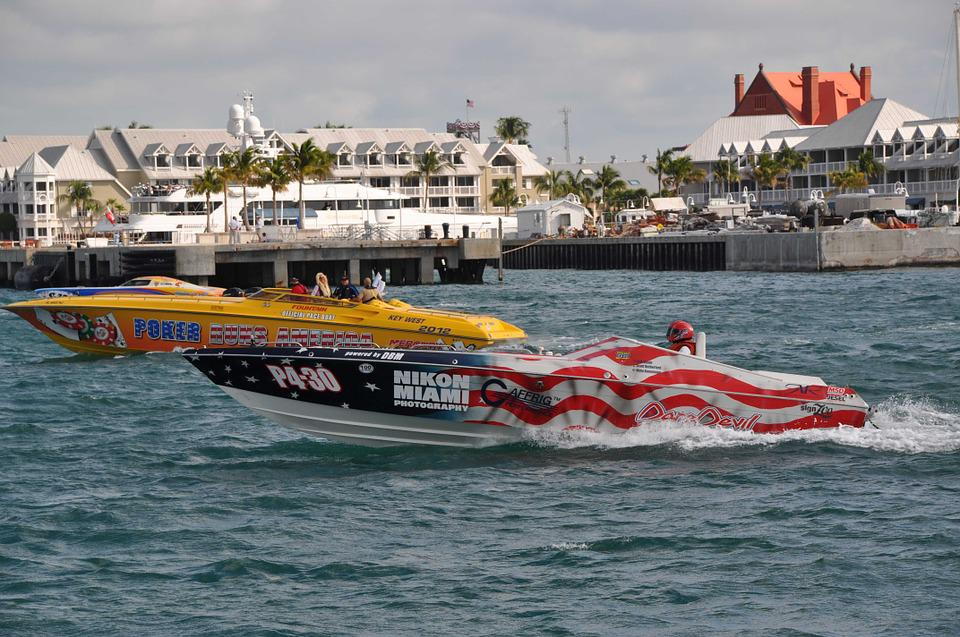 Super Boats, Key West Races, Key West, Super Boat Races