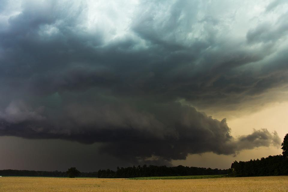 Nature, Sky, Super Cell, Storm, Thunderstorm