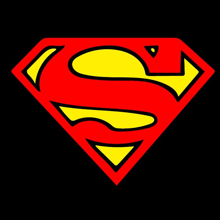 Super Man, Vector, Clipart, Sticker