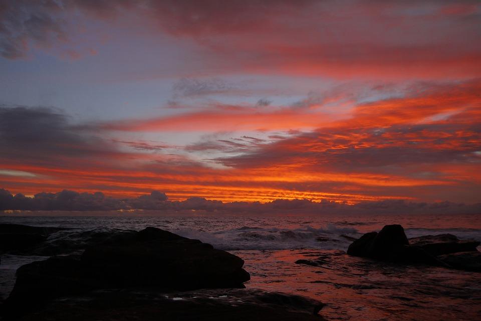 Sunset, Superb View