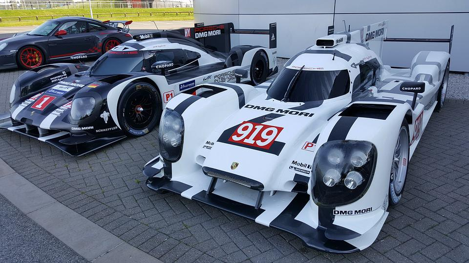 Free photo Supercar Race Cars Porsche Silverstone Le Mans - Max Pixel