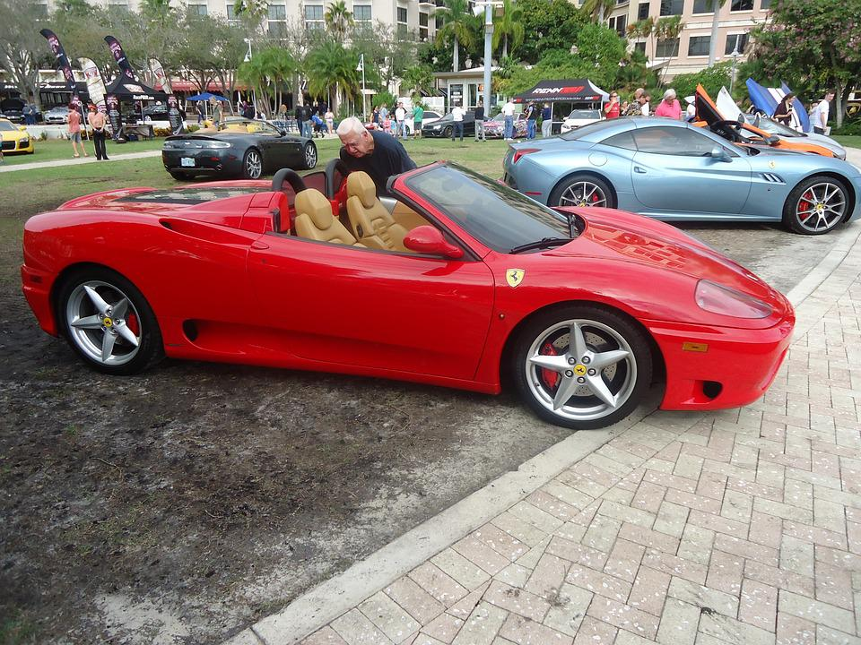 Supercar, Luxury Cars, Supercar Week, Red Convertible