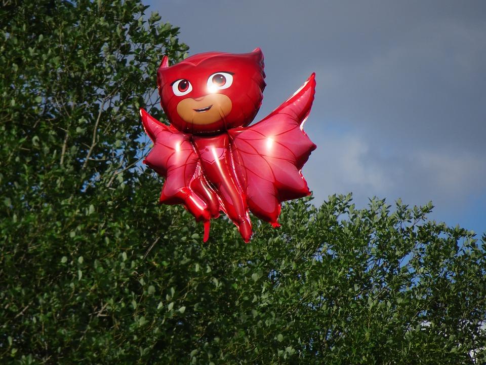 Pjmasks, Pajama Hero, Superhero, Balloon, Helium