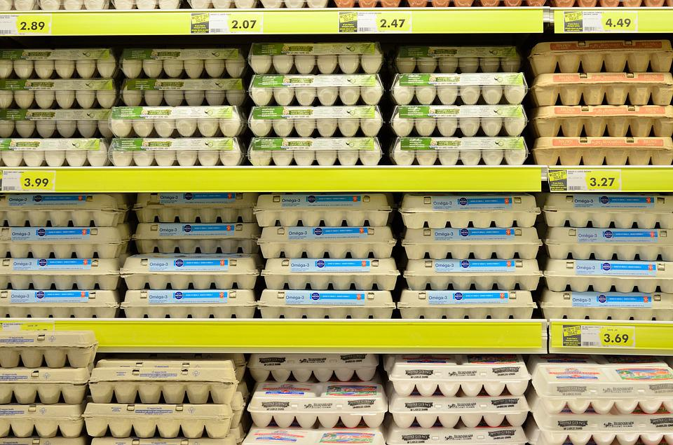 Egg, Supermarket, Fresh, Grocery Store, Grocery, Food