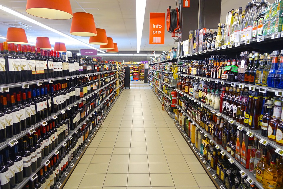Supermarket, Isle, Products, Variety, Grocery, Shop