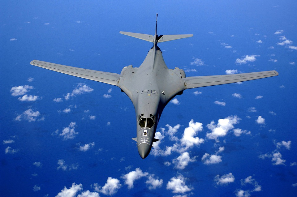 Aircraft, Supersonic Fighter, Flying, Flight