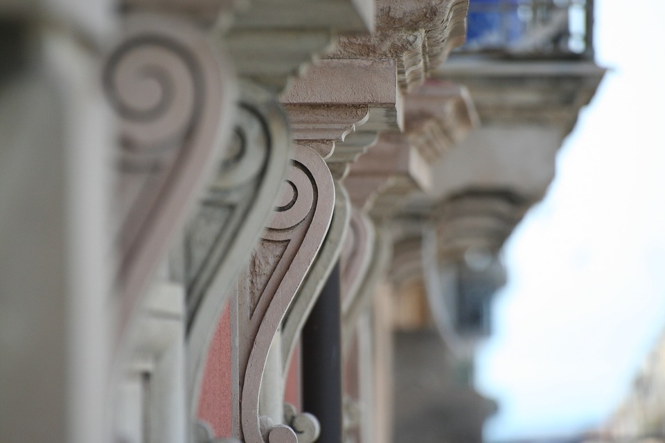 Sottobalcone, Support A Balcony, Baroque, Stone