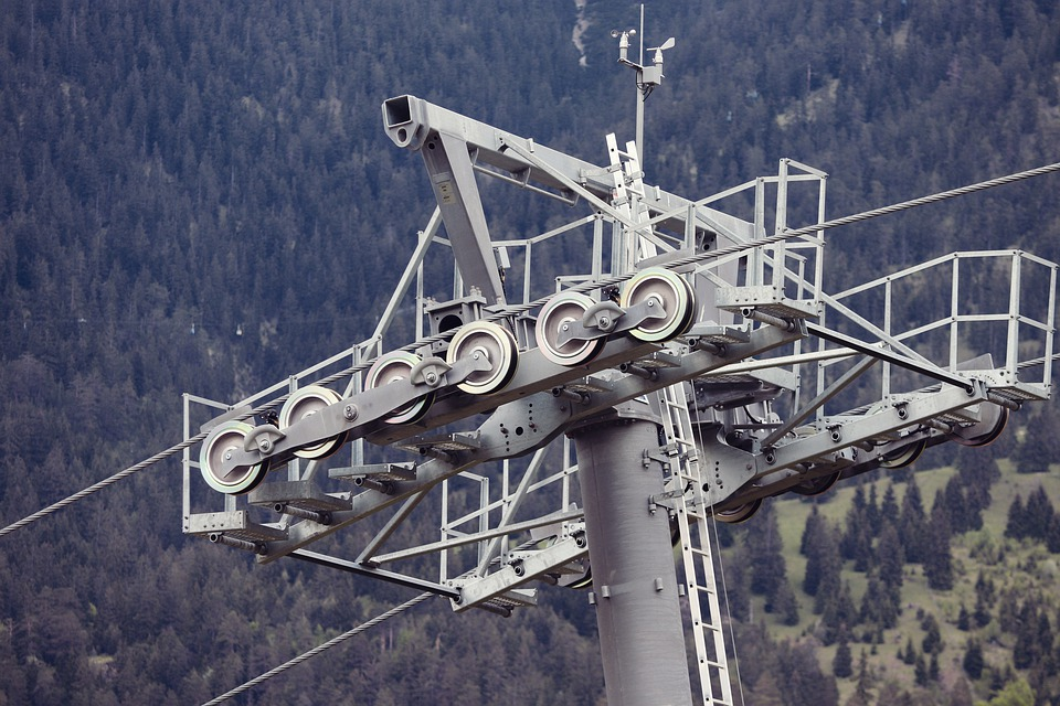 Cable Car, Support, Wire Rope, Goldelbahn, Mast