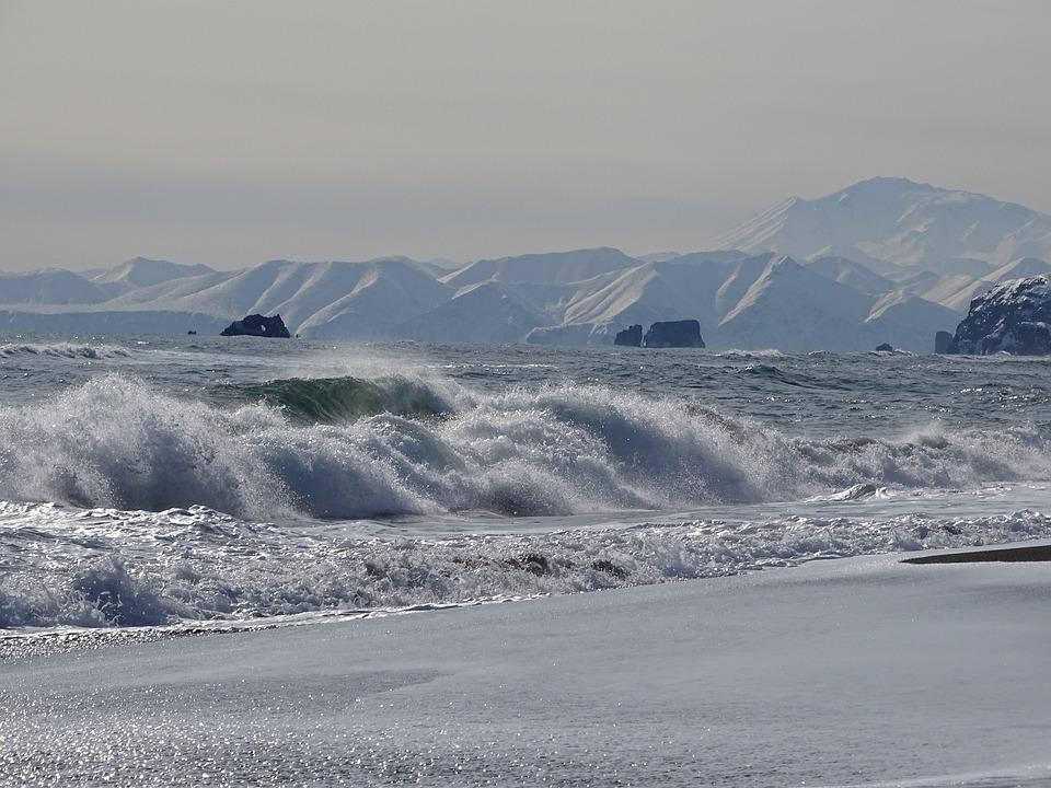 The Pacific Ocean, Sea, Wave, Beach, Coast, Surf