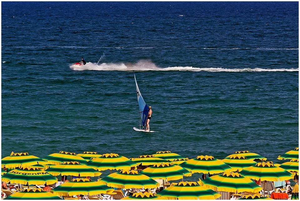 Bulgaria, Gold Beach, Holiday, Surf, Beach, Water