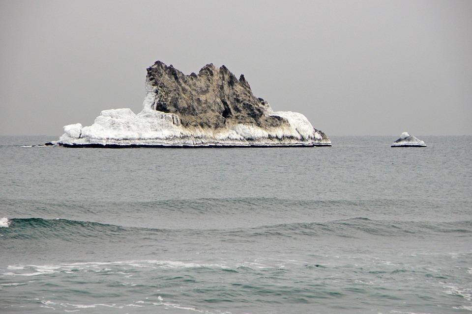 The Pacific Ocean, Sea, Rocks, Wave, Surf, Stones