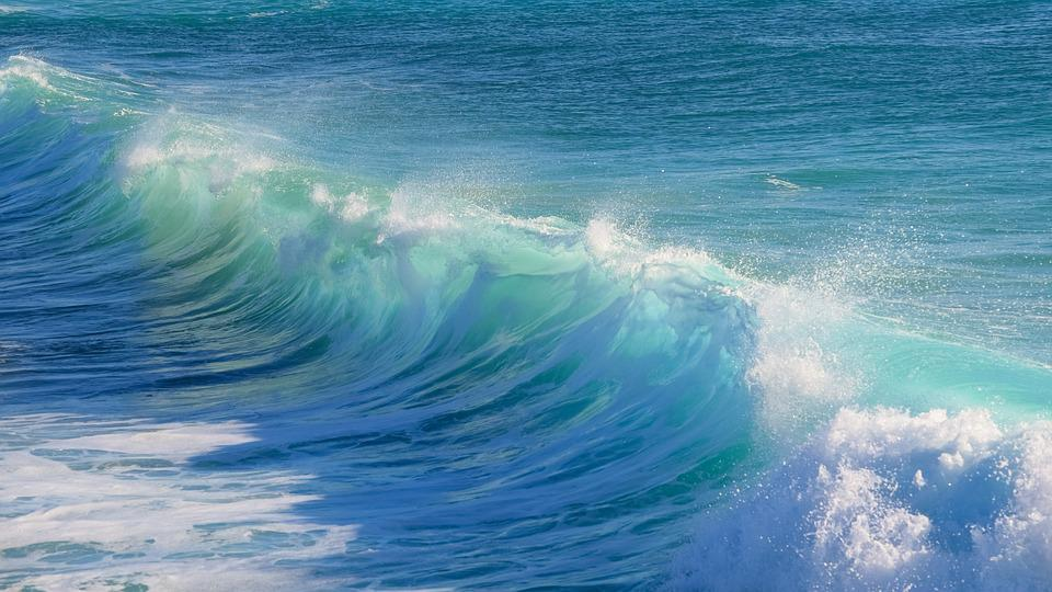 Surf, Water, Wave, Sea, Nature, Turquoise, Ocean