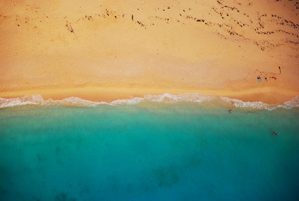 Beach, Shoreline, Coast, Summer, Shore, Sand, Sea, Surf