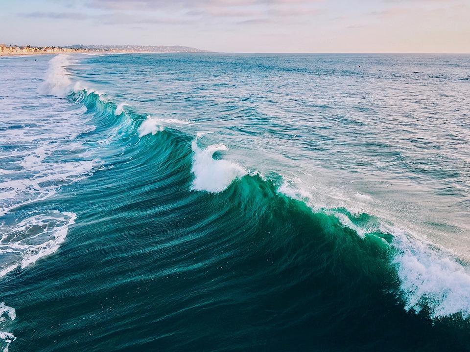 Ocean, Waves, Surf, Sea, Water, Coast