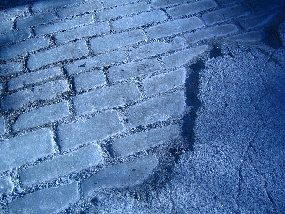Pavement, Brick, Brick Road, Street, Sidewalk, Surface