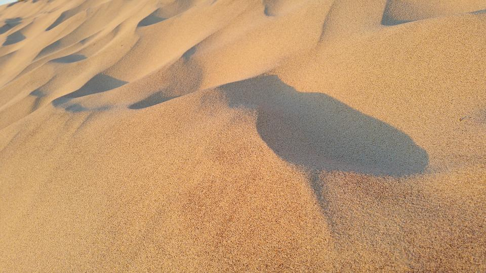 Sand, Beach, Ocean, Sea, Context, Surface