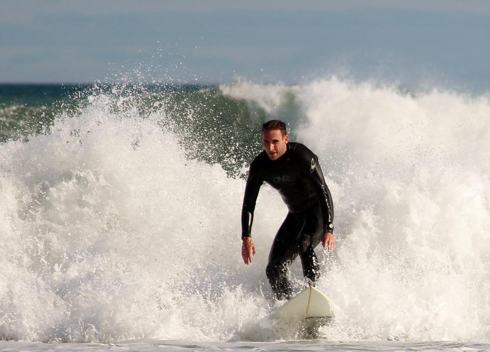 Surfer, Surfboard, Water Sports, Sea, Ocean, Water