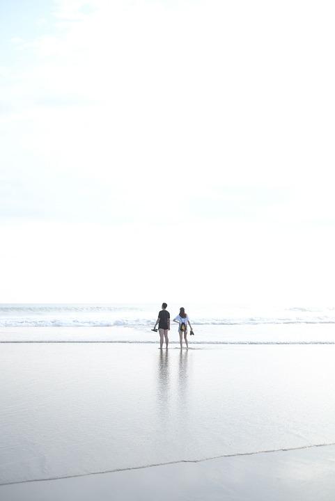 Bali, Beach, Balangan, Surfer, Indonesia, Ocean