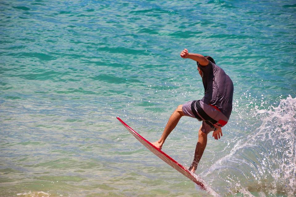 Surfer, Surf, Waters, Sea, Ocean, Pleasure, Summer
