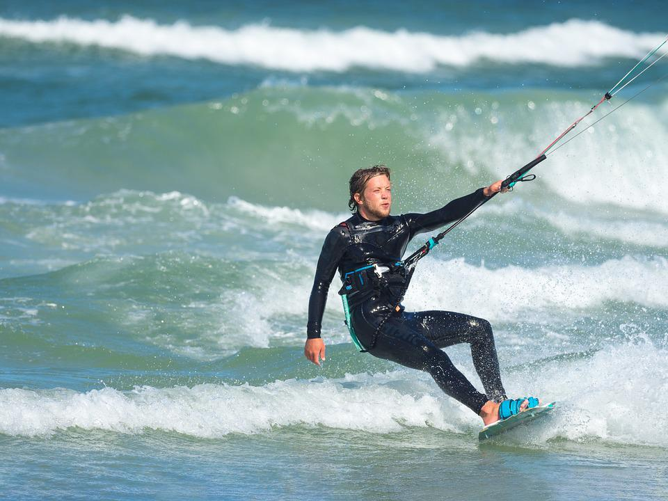 Surf, Kite, Water, Surfing, Sea, Ocean, Sport, Surfer