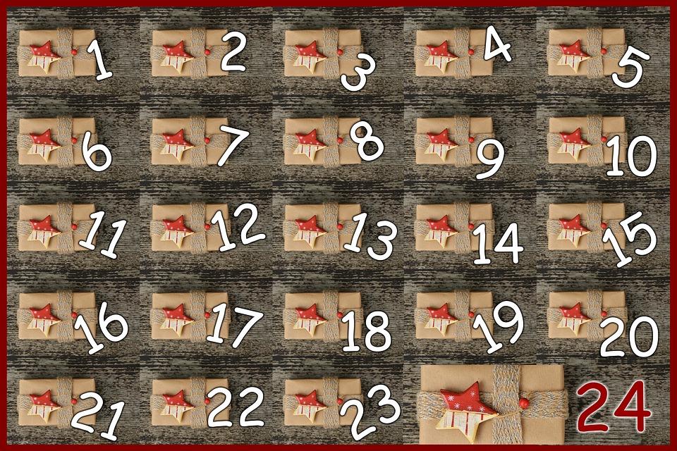 Advent Calendar, Door, Advent, Pay, Surprise, 24