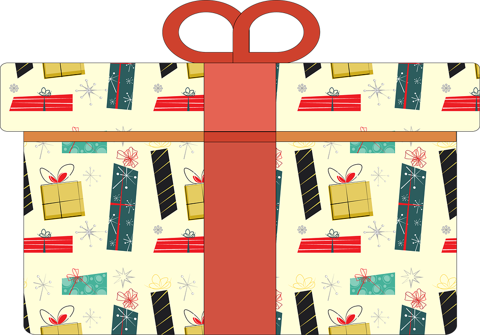 Christmas, Gifts, Winter, Surprise, Advent, Package