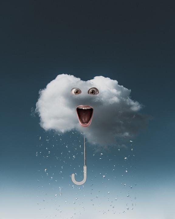 Cloud, Rain, Background, Photoshop, Surrealism, Weather