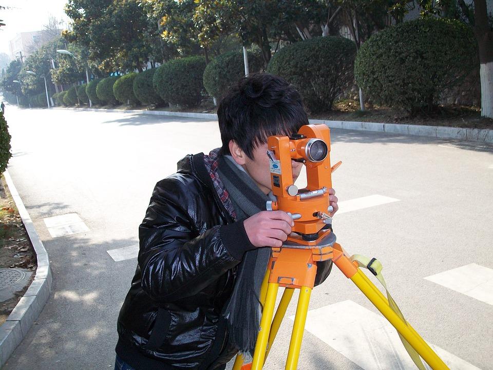 Surveyor, Surveying, Land, Job, Man, Measure