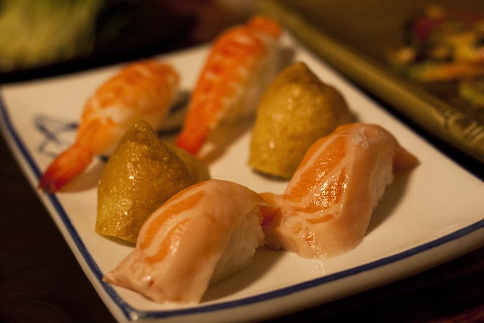 Sushi, Fish, Bob