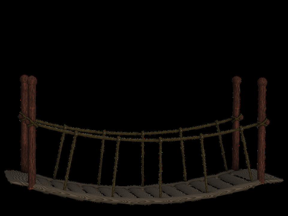 Bridge, Suspension Bridge, Wooden Bridge