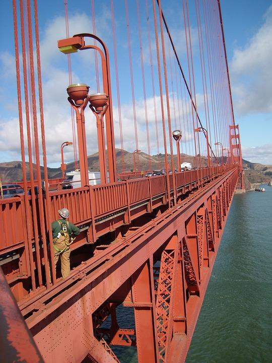 San Francisco, Suspension Bridge, Golden Gate Bridge