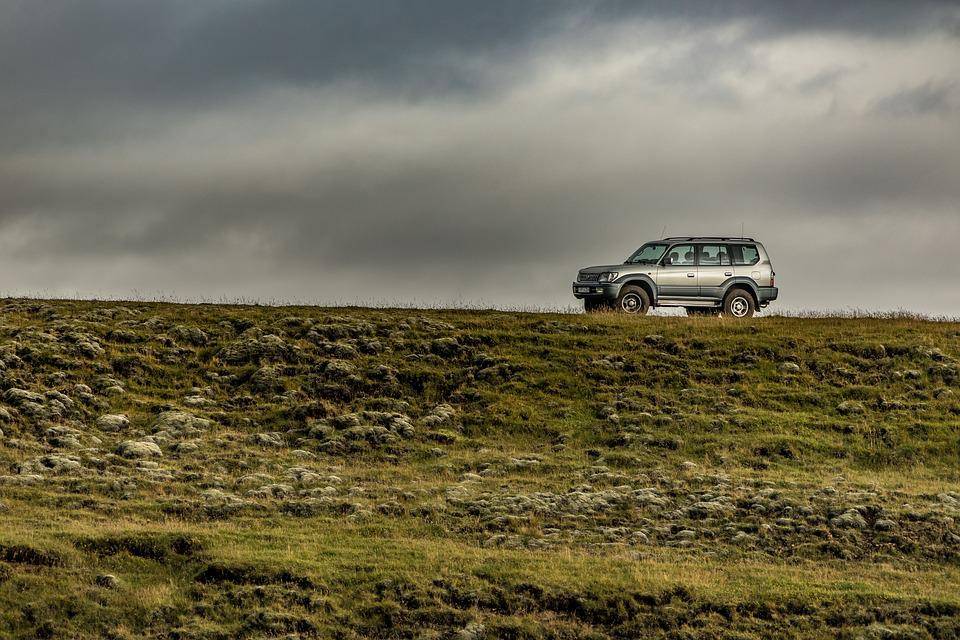 Landscape, Agriculture, Nature, Field, Sky, Jeep, Suv