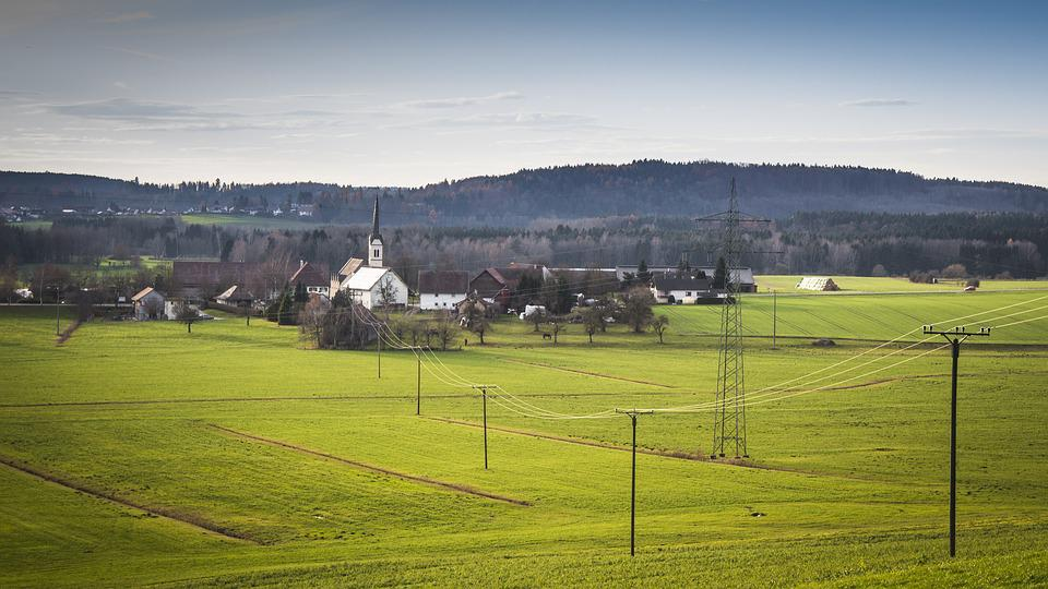 Swabia, On The Land, Farm, Rural, Scenic, Outside