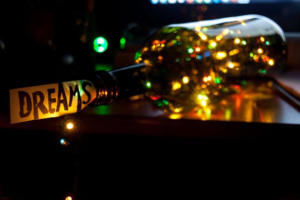 bottle swag lights dreams christmas new years eve - Christmas Swag Lights