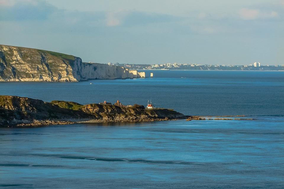 Sea, Swanage Bay, Dorset