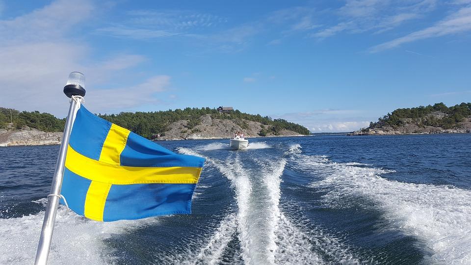 Boat, Archipelago, Sea, Pleasure Boat, Sweden
