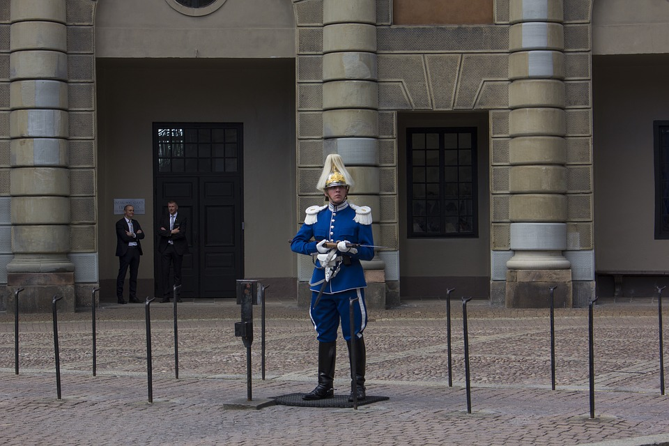 Stockholm, Changing Of The Guard, Castle, Sweden